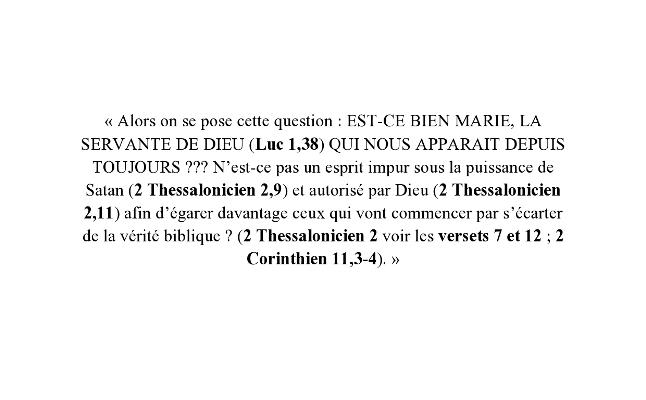Apocalypse 13,11-18 et 2 Thessalonicien 2,1-12